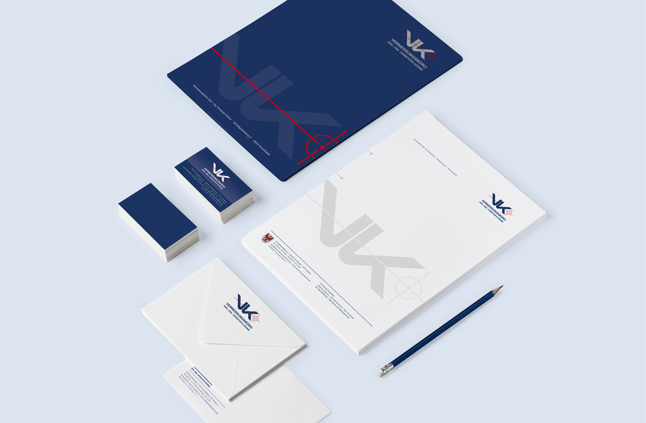 Corporate Design mit kompletter Geschäftsausstattung